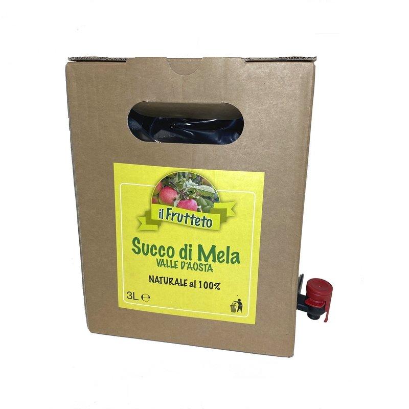 Bag in box – succo di mele – valle d'aosta – naturale al 100%