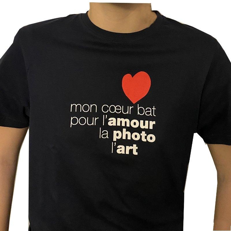T-shirt blu uomo Mon Coeur