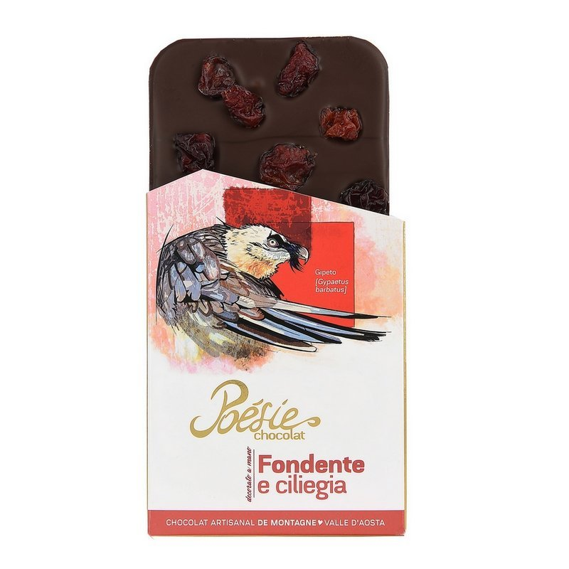 Cioccolato fondente e ciliegie