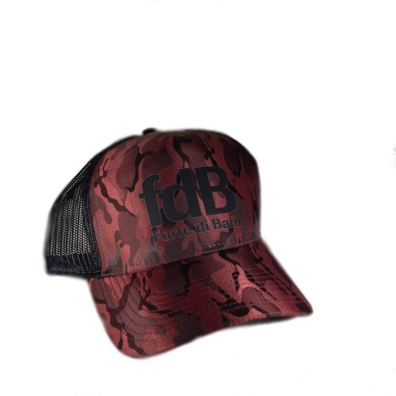 Cappello camouflage con visiera